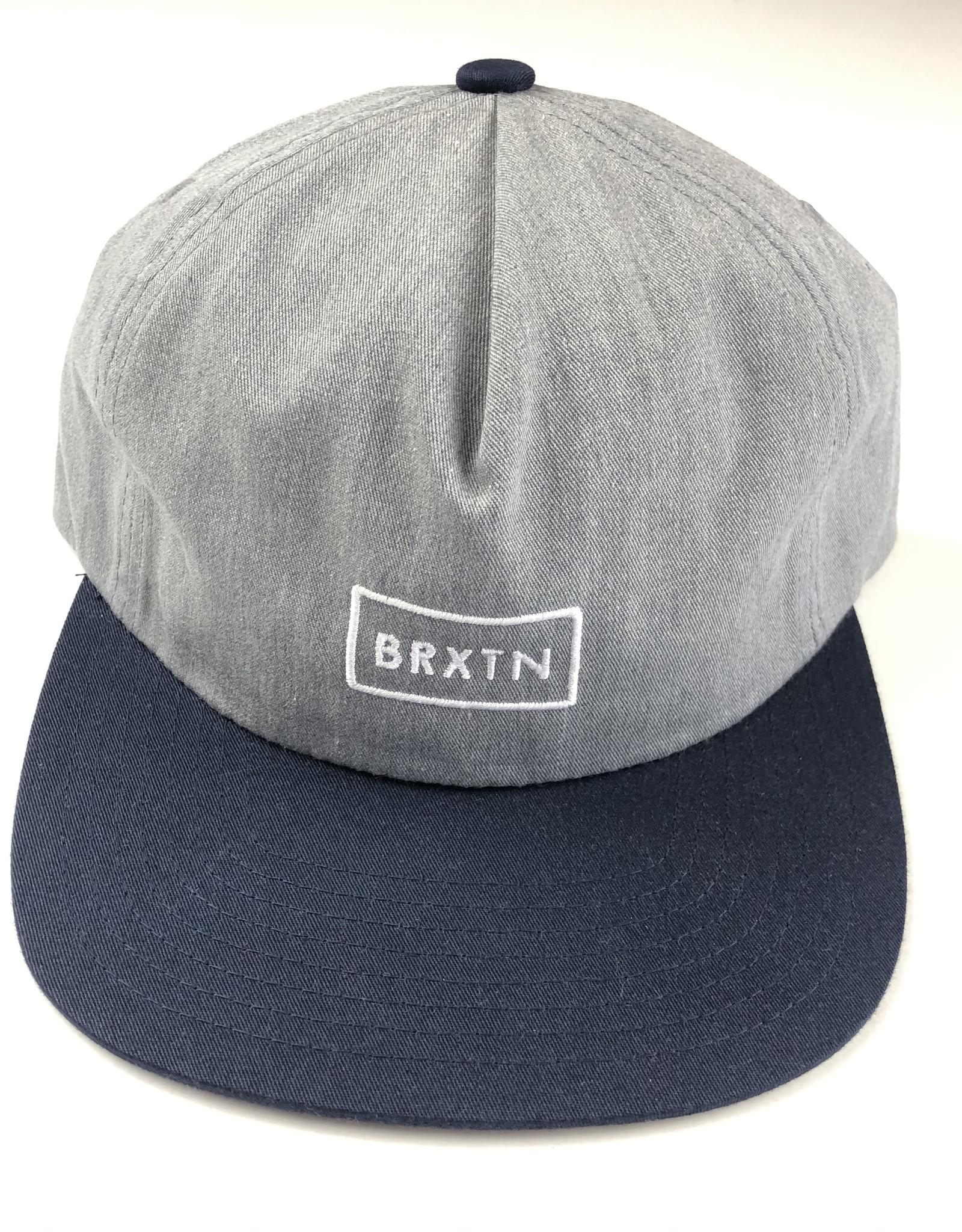 BRIXTON BRIXTON RIFT MP HAT - HEATHER/NAVY