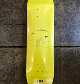 SOUR SKATEBOARDS SOUR SOLUTION SUCCESS FAILURE YELLOW DECK - 8.18