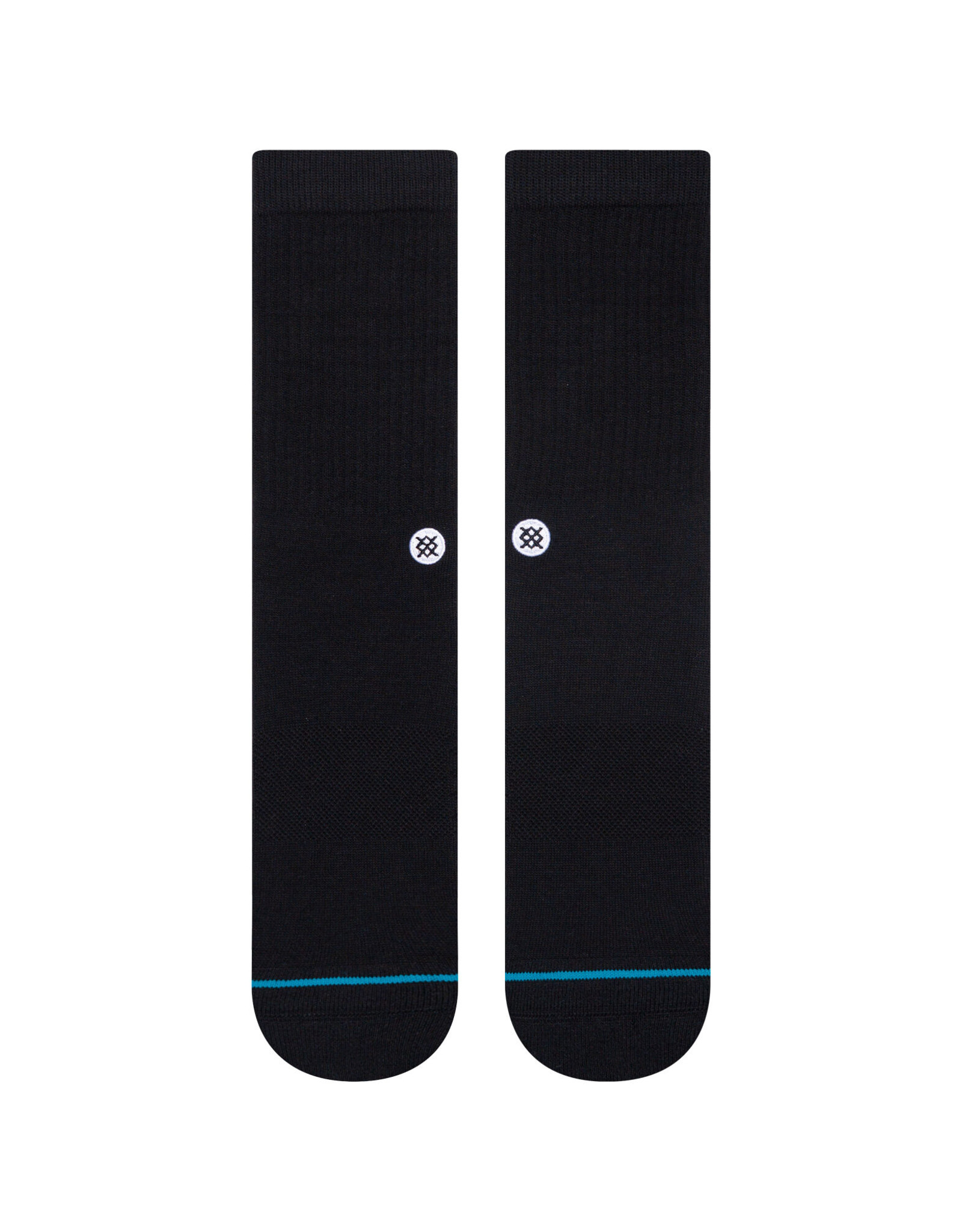 STANCE STANCE ICON SOCK - BLACK/WHITE