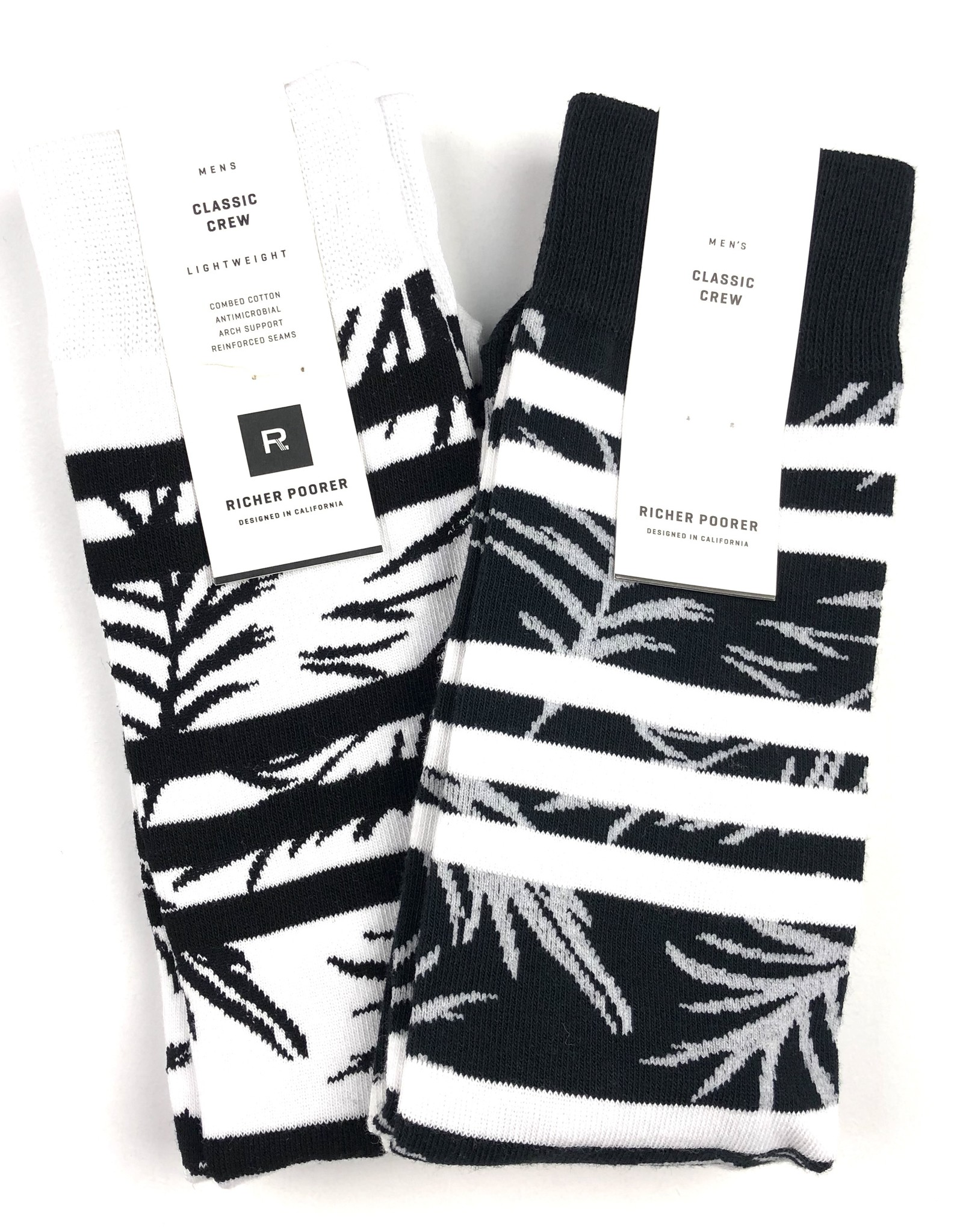 RICHER POORER CRUISE CREW SOCK - (ALL COLORS)