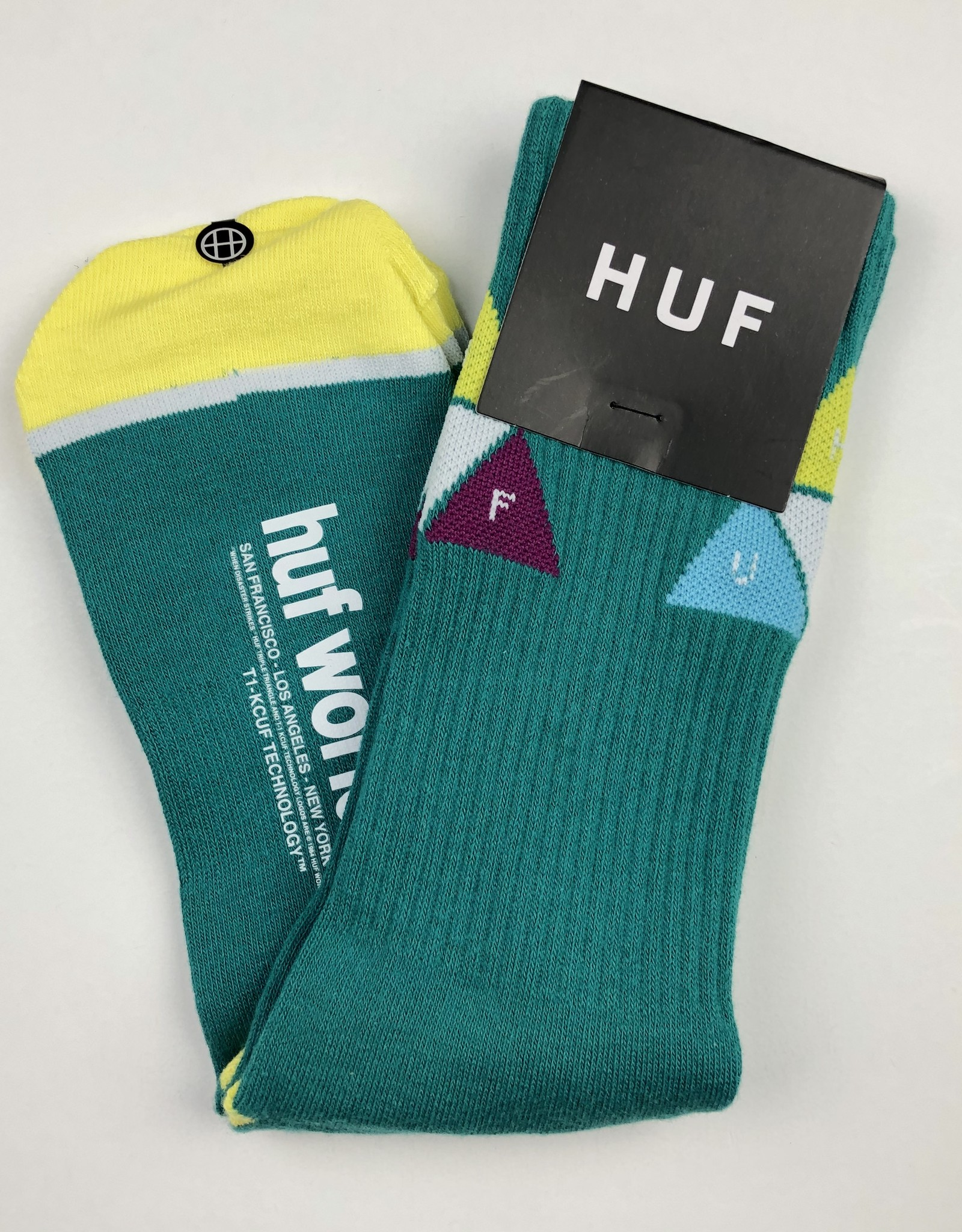 HUF PRISM TRIANGLE SOCK - (ALL COLORS)