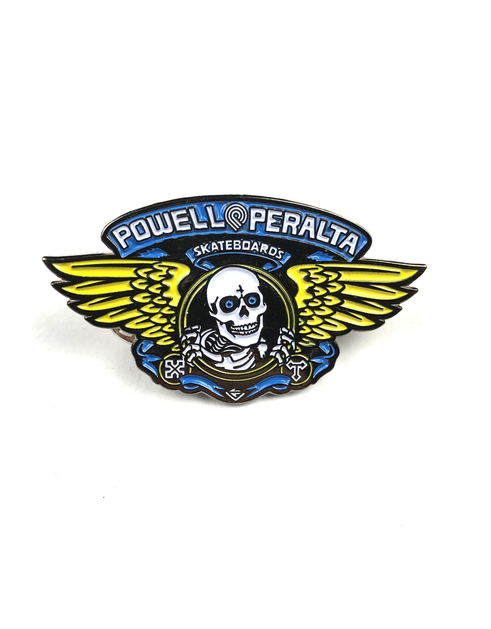 POWELL WINGED RIPPER PIN - BLUE