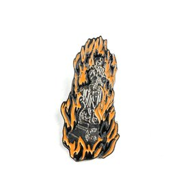 HOCKEY JOAN OF ARC PIN