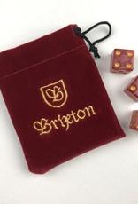 BRIXTON BRIXTON HIGH ROLLER DICE SET - RED