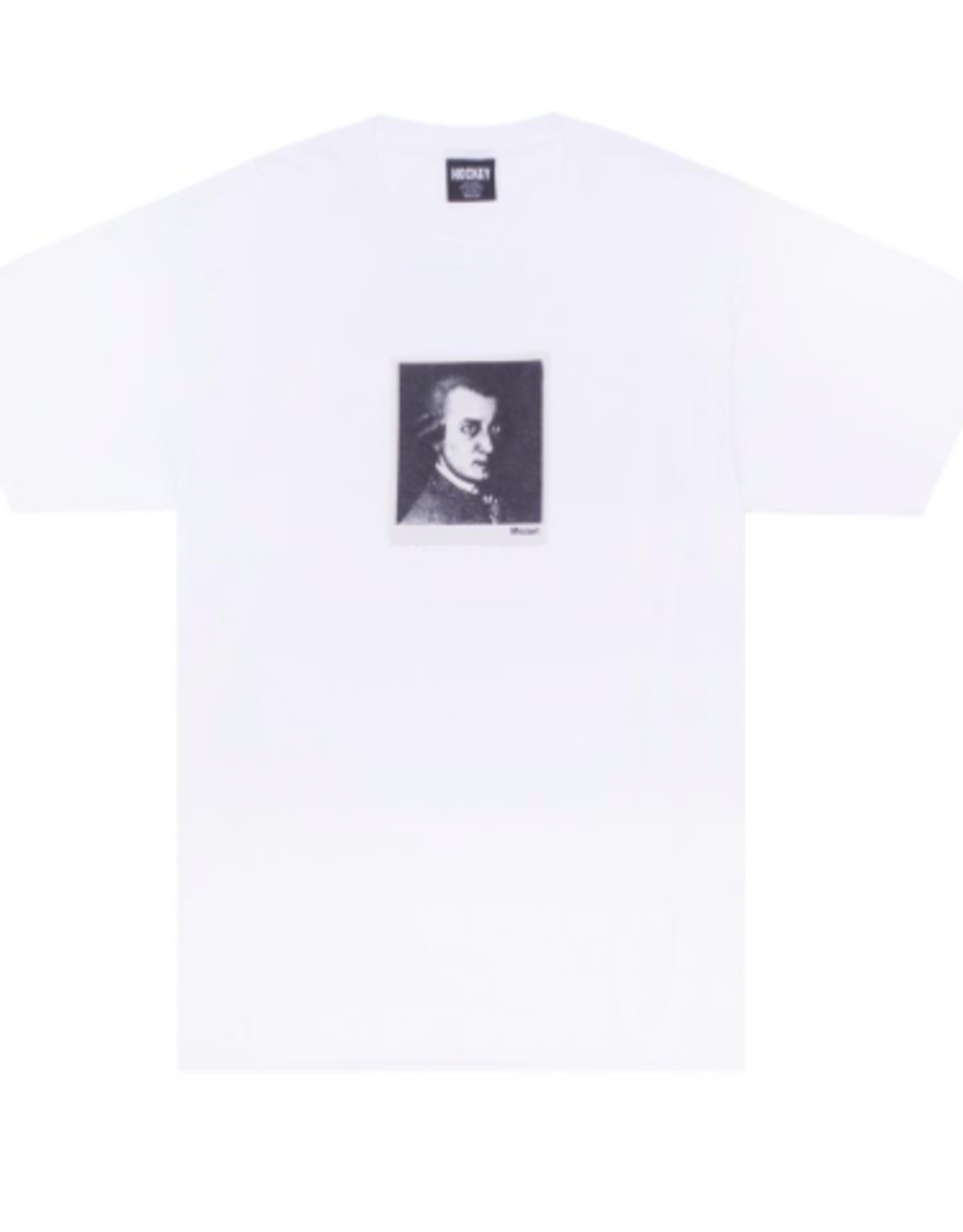 HOCKEY MOZART S/S TEE - WHITE