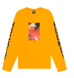 HOCKEY CORVETTE L/S TEE - BRIGHT GOLD