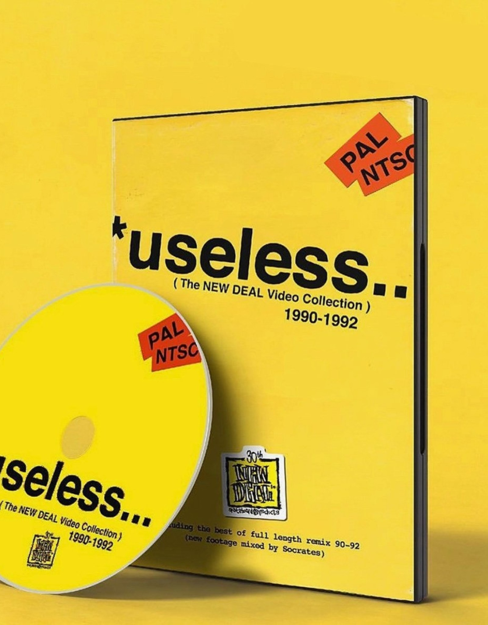 THE NEW DEAL THE NEW DEAL USELESS VIDEO COLLECTION DVD