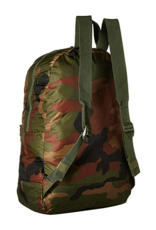 HERSCHEL HERSCHEL PACKABLE DAYPACK BACKPACK - WOODLAND CAMO