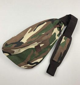 BRIXTON BRIXTON CHICAGO SHOULDER SLING BAG - WOODLAND CAMO