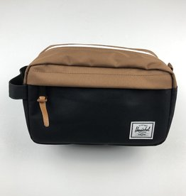 HERSCHEL HERSCHEL CHAPTER BAG - BLACK SADDLE BROWN