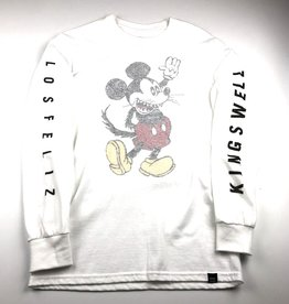 WOLVES KILL SHEEP WOLVES KILL SHEEP X KINGSWELL MICKEY L/S TEE - (ALL COLORS)