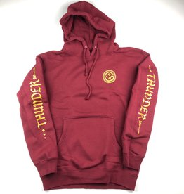 THUNDER TRUCKS THUNDER SERPENT MOON HOODIE - BURGUNDY