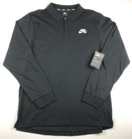 NIKE NIKE SB DRI FIT L/S POLO JERSEY - (ALL COLORS)