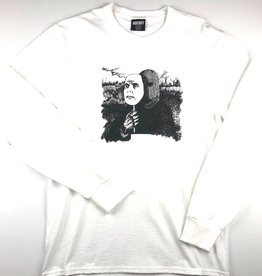 HOCKEY BLEND IN L/S TEE - WHITE
