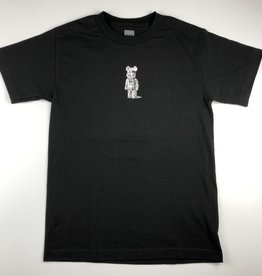 HUF PHIL FROST X BEARBRICK TEE - BLACK