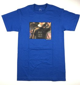 WKND BADFISH S/S TEE - ROYAL BLUE