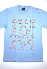 HUF MAKIN BACON S/S TEE - GREEK BLUE
