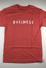 "BUSINESS AND COMPANY BUSINESS AND COMPANY ""BUSINESS"" S/S TEE - CORAL"