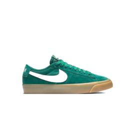 NIKE NIKE SB ZOOM BLAZER LOW PRO GT QS - FIR/WHITE-FIR-GUM LIGHT BROWN