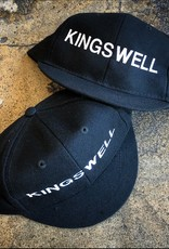 KINGSWELL KINGSWELL UMPIRES CAP HAT - BLACK