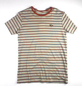 BANKS JOURNAL BANKS JOURNAL SPROUT STRIPE DELUXE S/S TEE - BONE