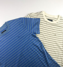 BRIXTON BRIXTON HILT MINI STRIPE S/S KNIT TEE - (ALL COLORS)