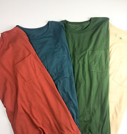 BRIXTON BRIXTON BASIC S/S POCKET TEE - (ALL COLORS)