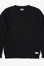 BANKS JOURNAL BANKS JOURNAL NOCTURN KNIT SWEATER - DIRTY BLACK