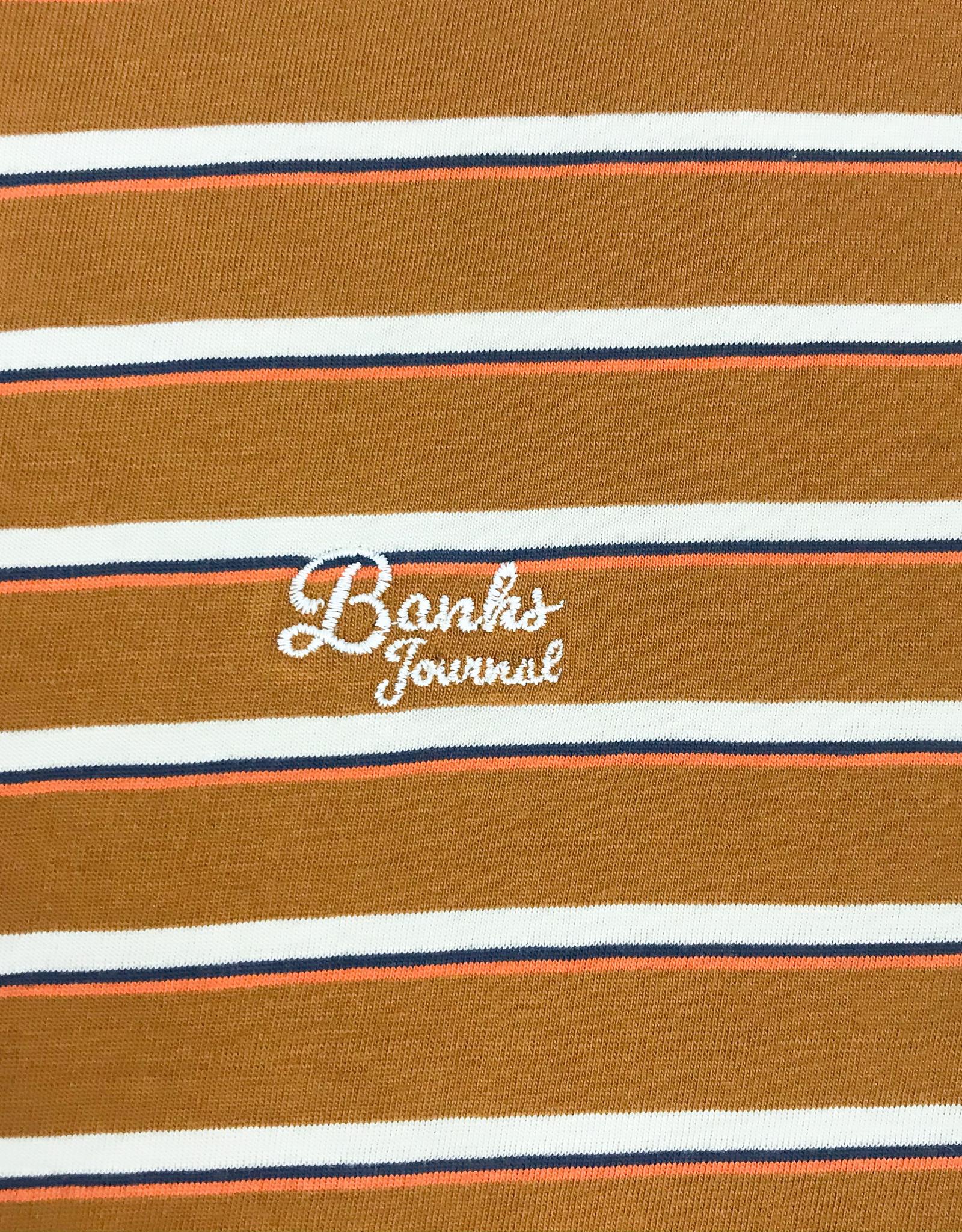 BANKS JOURNAL BANKS BILONGIL DELUXE S/S TEE - TOBACCO