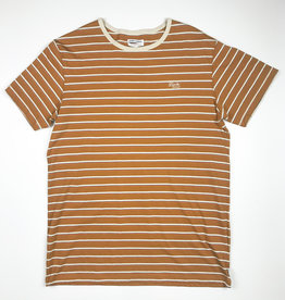 BANKS JOURNAL BANKS BILONGIL DELUXE S/S TEE - TOBACCO