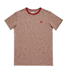 BANKS JOURNAL BANKS RIVER DELUXE S/S TEE - MAHOGANY