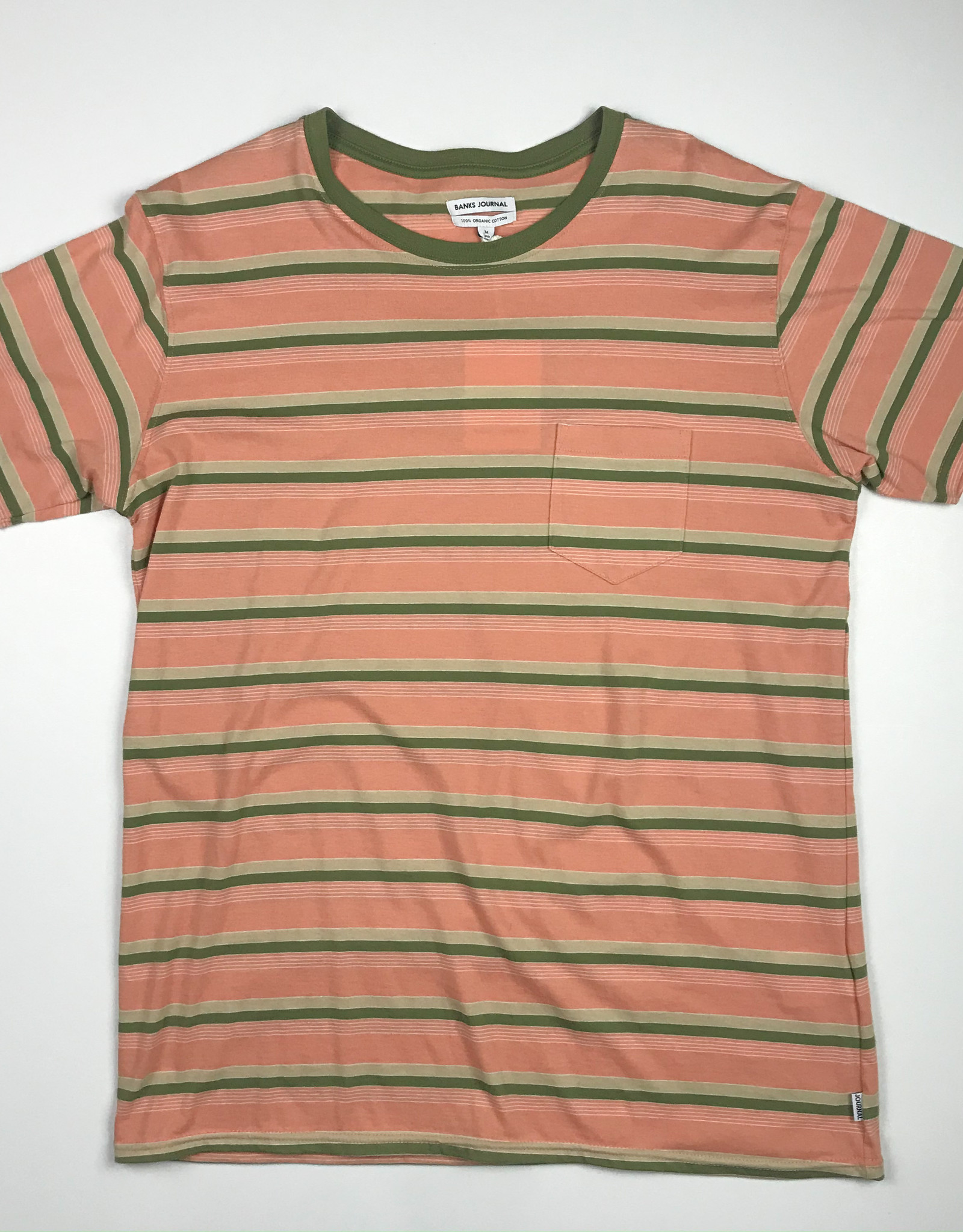 BANKS JOURNAL BANKS JOURNAL SANS S/S TEE - FADED PEACH