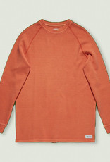 BANKS JOURNAL BANKS JOURNAL TRANSSEASONAL L/S FLEECE - RUST
