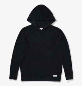BANKS JOURNAL BANKS DESTINY FLEECE HOODIE - DIRTY BLACK