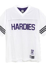 ADIDAS ADIDAS X HARDIES JERSEY - WHITE/COLLEGIATE PURPLE