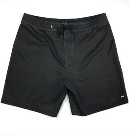 BANKS JOURNAL BANKS STAPLE BOARDSHORT - DIRTY BLACK
