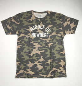 QUIET LIFE MIDDLE NOWHERE TEE - CAMO PREMIUM