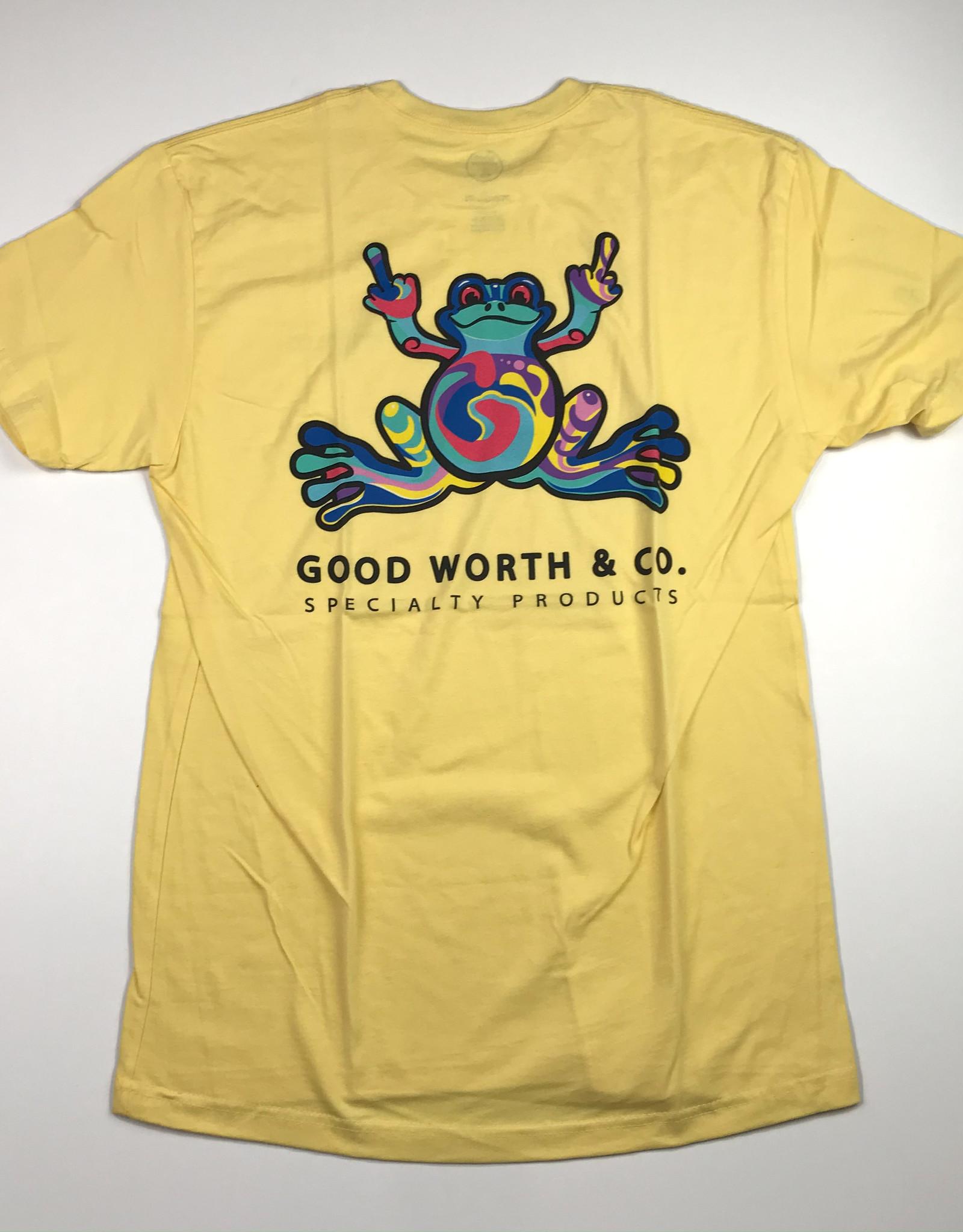 GOOD WORTH GOOD WORTH FROG TEE BANANNA
