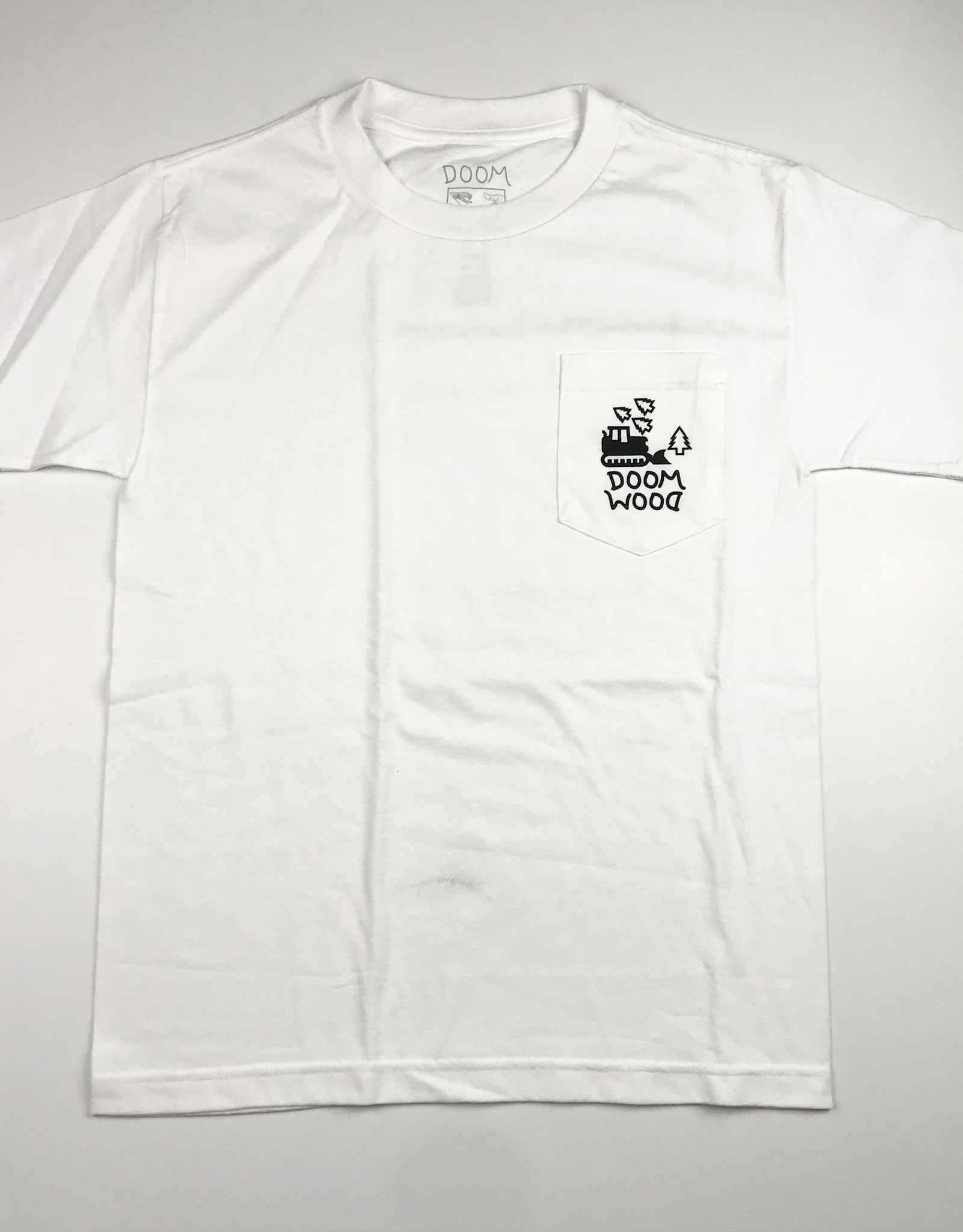DOOM SAYERS DOOM SAYERS WOOD POCKET TEE