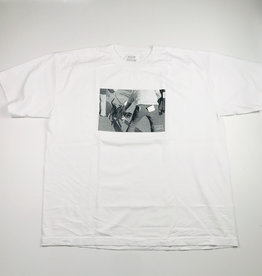 DOOM SAYERS DOOM SAYERS. PITBULL TEE - WHITE