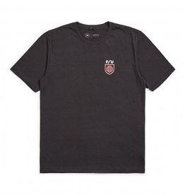 BRIXTON HEDGE TEE - INDY WASHED BLACK