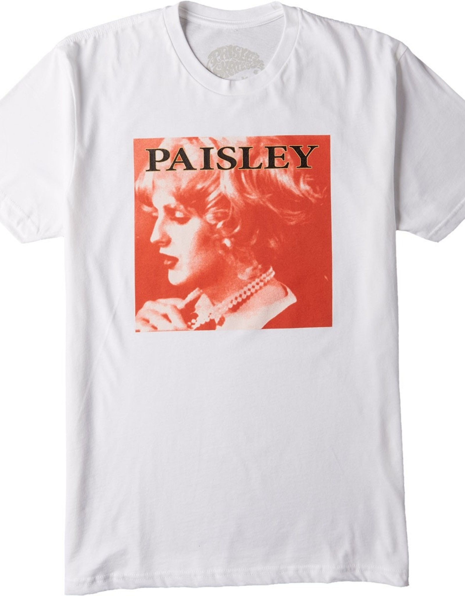 PAISLEY CANDY TEE - WHITE