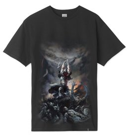 HUF FRAZETTA DEATH DEALER TEE - BLACK