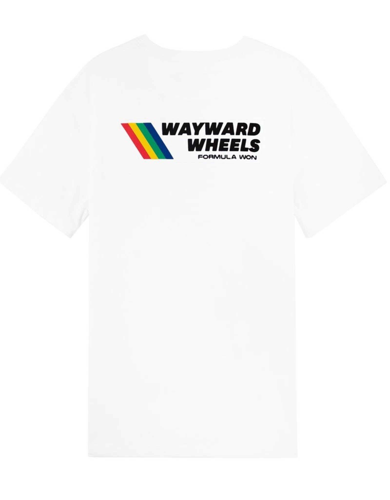 WAYWARD WAYWARD FORMULA WON CAR TEE - WHITE / MEDIUM