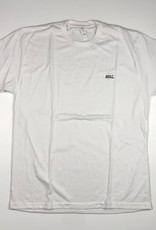 SML EMBROIDERED LOGO TEE - WHITE