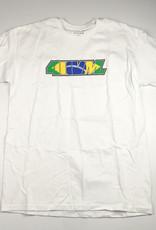 TRANSWORLD 411VM TRANSWORLD BRASILLIA TEE - WHITE / LARGE