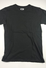 BANKS JOURNAL PRIMARY FADED S/S TEE - DIRTY BLACK - MEDIUM