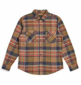 BRIXTON BRIXTON BOWERY L/S FLANNEL - SAGE