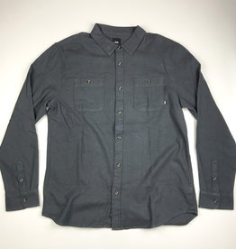 VANS VANS BANFIELD 3 L/S BUTTON - ASPHALT