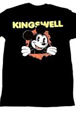 KINGSWELL KINGSWELL MICKEY RIPPER TEE - BLACK